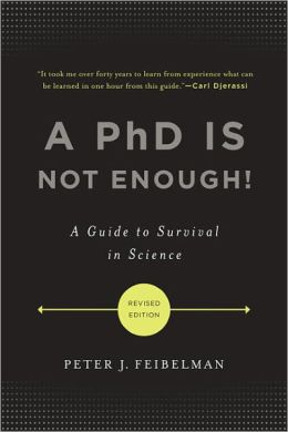 PhD is not enough